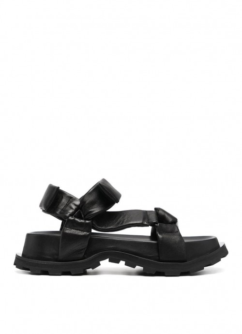 SANDALS NAPPA NATURE 999 NERO