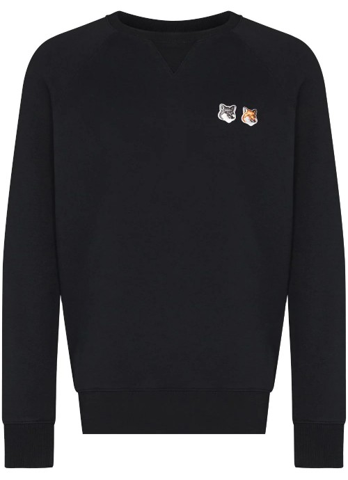 DOUBLE FOX HEAD PATCH CLASSIC SWEATSHIRT