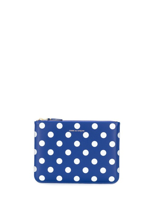 DOTS PRINTED LEATHER LINE