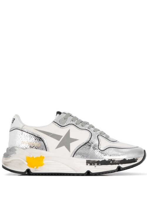 RUNNING SOLE LYCRA UPPER PRINT STAR CRACK TOE AND SPUR