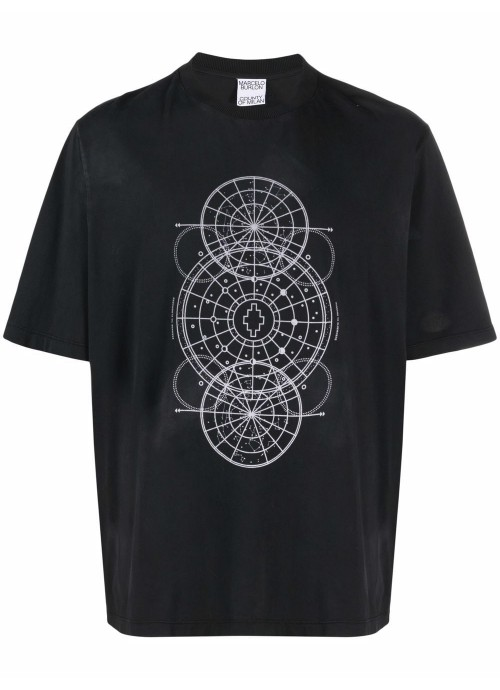 ASTRAL CIRCLES OVER T-SHIRT